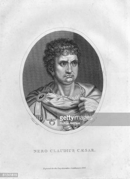Circa 60 AD Nero the fifth Emperor of Rome Although the early years of his reign were marked by moderation a series of unsuccessful wars and scandals...