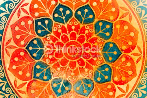 Circle decorative spiritual indian symbol of lotus flower stock circle decorative spiritual indian symbol of lotus flower stock photo mightylinksfo