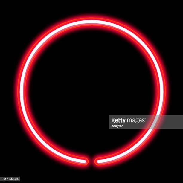 circle neon