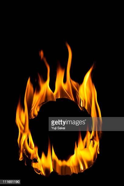 Circle shaped flame