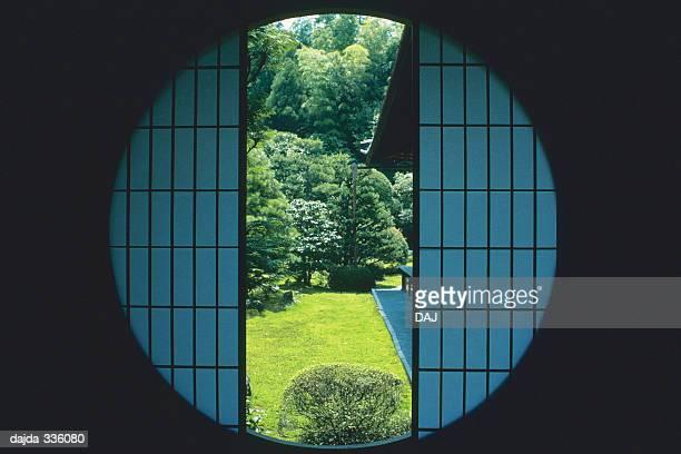 A Circle Shaped of Window