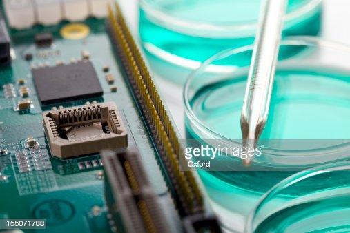 Placa de Circuito e Disco de Petri