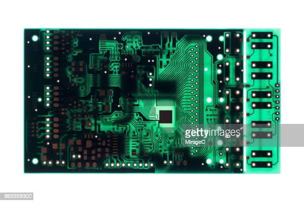 Circuit Board on White
