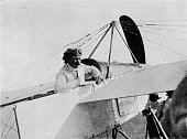Jules Vedrines at Shoreham Control Sussex 1911 Jules Charles Toussaint Védrines was an early French aviator notable for being the first pilot to fly...