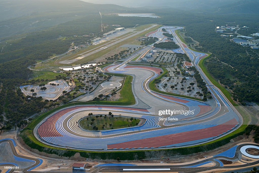 circuit paul ricard le castellet france stock photo getty images. Black Bedroom Furniture Sets. Home Design Ideas