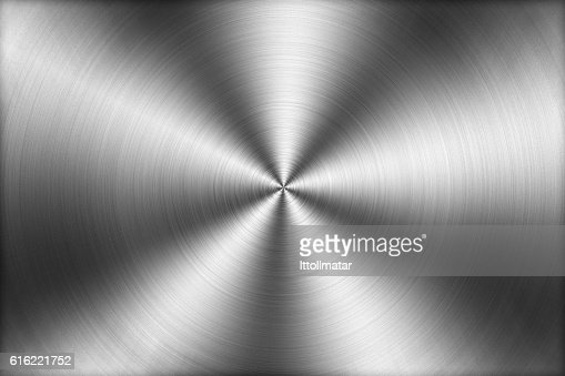Circular brushed metal texture background,illustration : Stock-Foto
