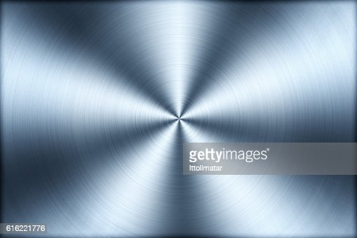 Circular brushed metal texture background,illustration : Stock Photo