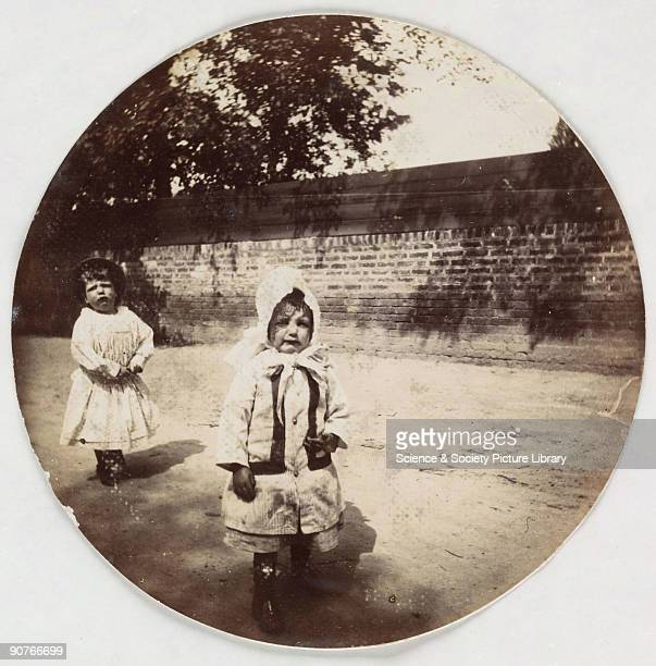 Circular photograph taken with a Kodak No 1 camera around the end of the 19th century The Kodak invented by George Eastman is perhaps the most...