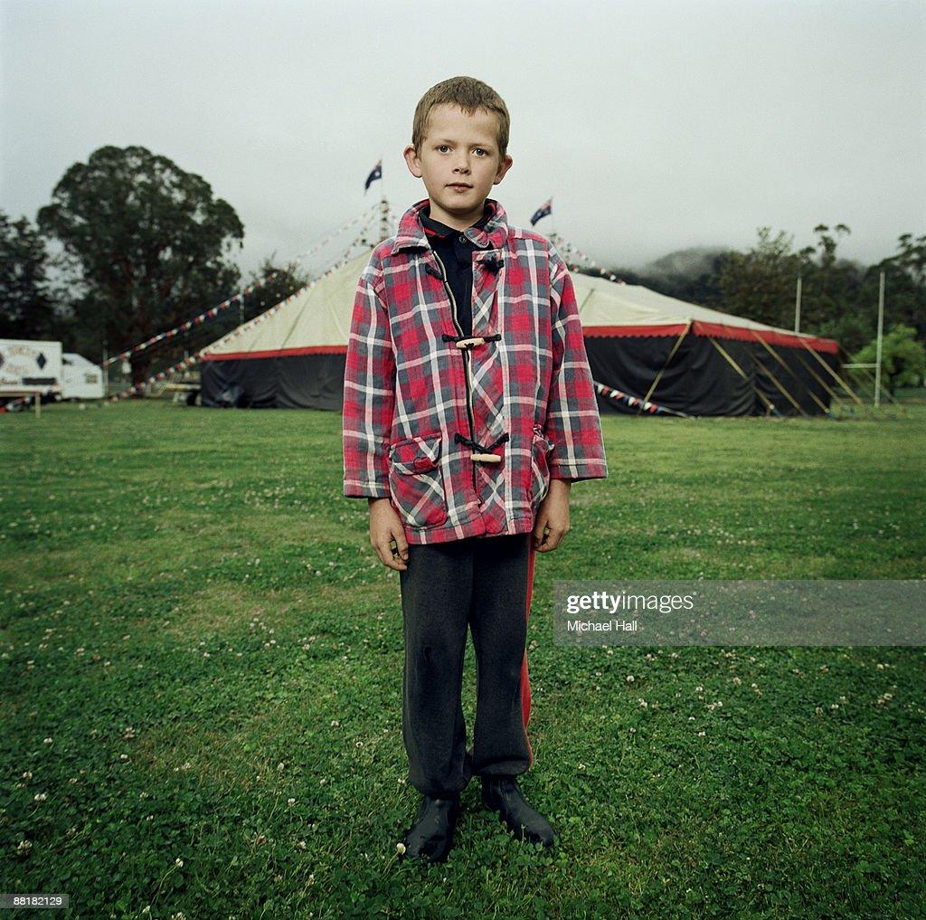 Circus boy : Stock Photo