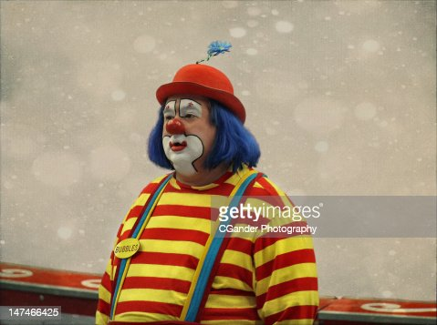 Circus Clown : Stock Photo