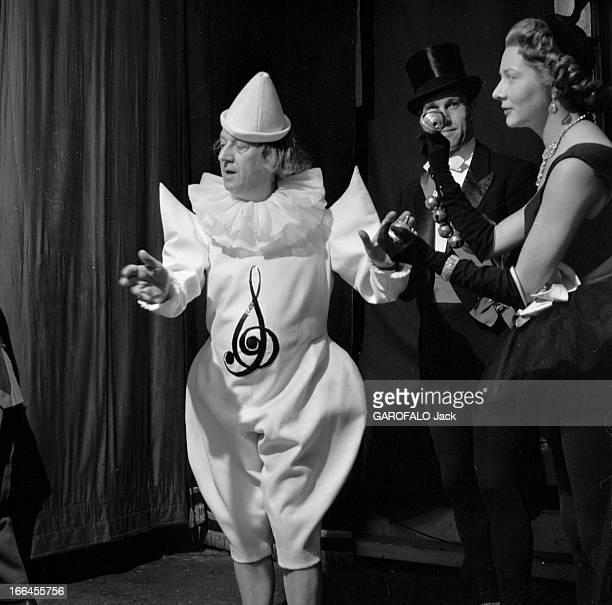A Circus Evening Organized By The Amar Brothers En juillet 1953 lors d'une soirée gala au profit de l'enfance malheureuse donnée par les frères AMAR...