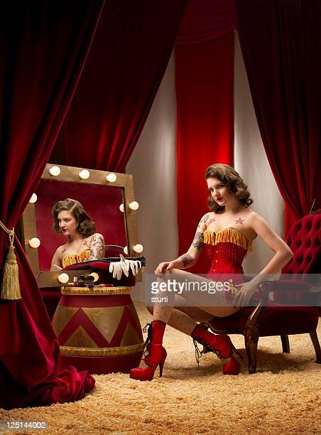 circus ringmaster burlesque