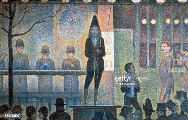 'Circus Sideshow' 18871888 A parade the free entertainment offered at the entrance of a traveling theatre is intended to attract a crowd and...