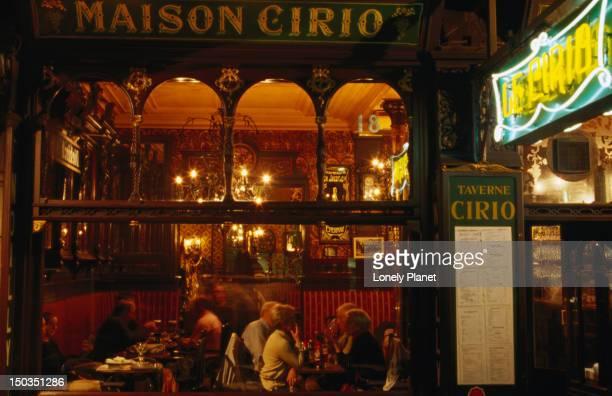 Cirio bar and restaurant.