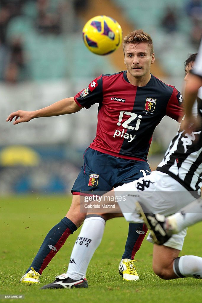 Ciro Immobile of Genoa CFC in action during the Serie A match between AC Siena and Genoa CFC at Stadio Artemio Franchi on November 4, 2012 in Siena, Italy.