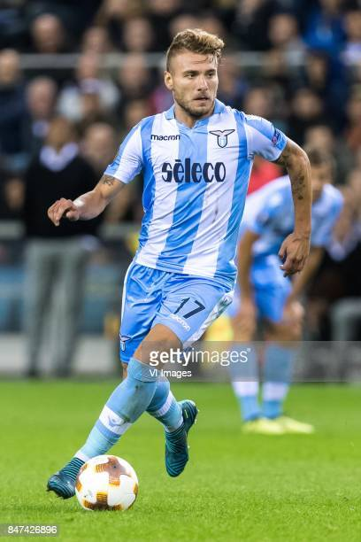 Ciro Immobile of SS Lazio during the UEFA Europa League group K match between Vitesse Arnhem and Lazio Roma at Gelredome on September 14 2017 in...