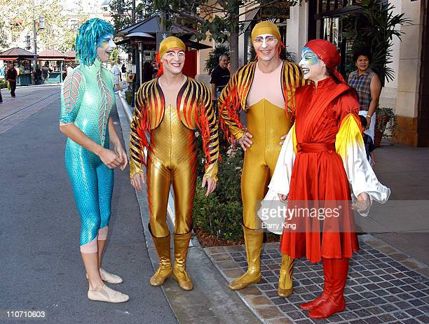 Cirque Du Soleil 'Varekai' artists make special appearance at Barnes Noble bookstore at the Grove to sign copies of the new Cirque Du Soleil...
