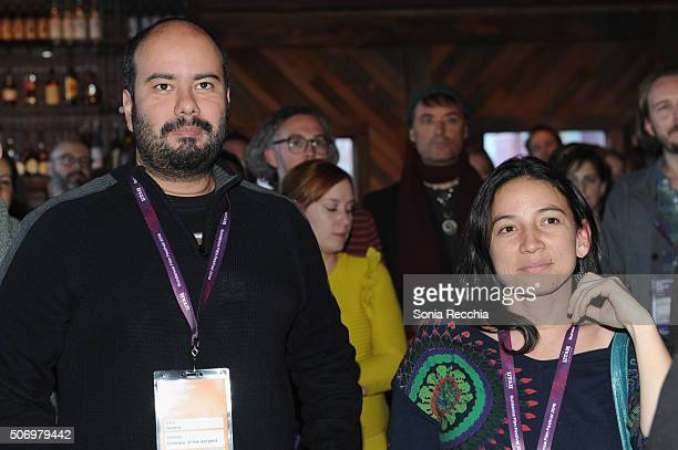 Cirro Guerra and Cristina Gallego attend the Alfred P Sloan Foundation Reception and Prize Announcement during the 2016 Sundance Film Festival at...