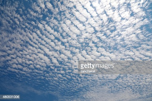 Cirrocumulus Cloud : Stock Photo