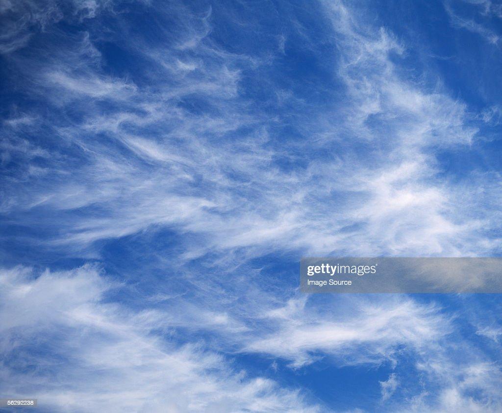 Cirrus clouds : Stock Photo