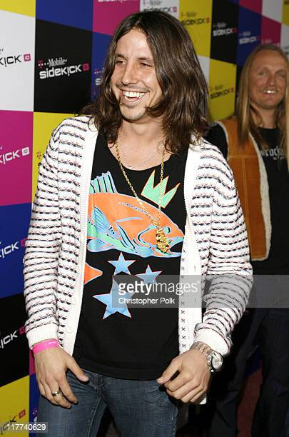 Cisco Adler of Whitestarr during TMobile Sidekick iD Launch Arrivals in Los Angeles California United States