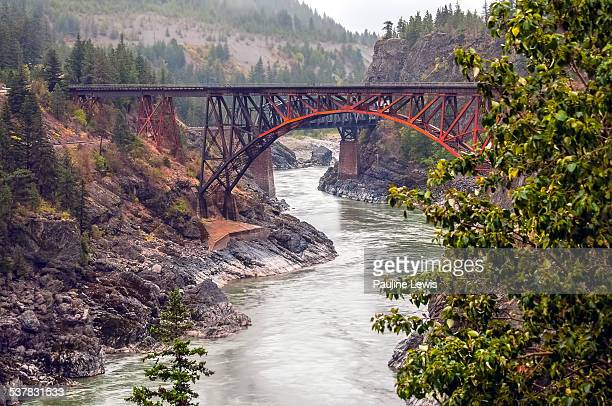 Cisco Bridges in the Fraser Canyon