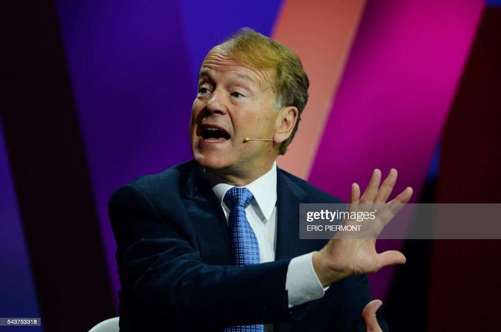Cisco Executive Chairman John Chambers attends the Viva Technology event in Paris on June 30, 2016. / AFP / ERIC