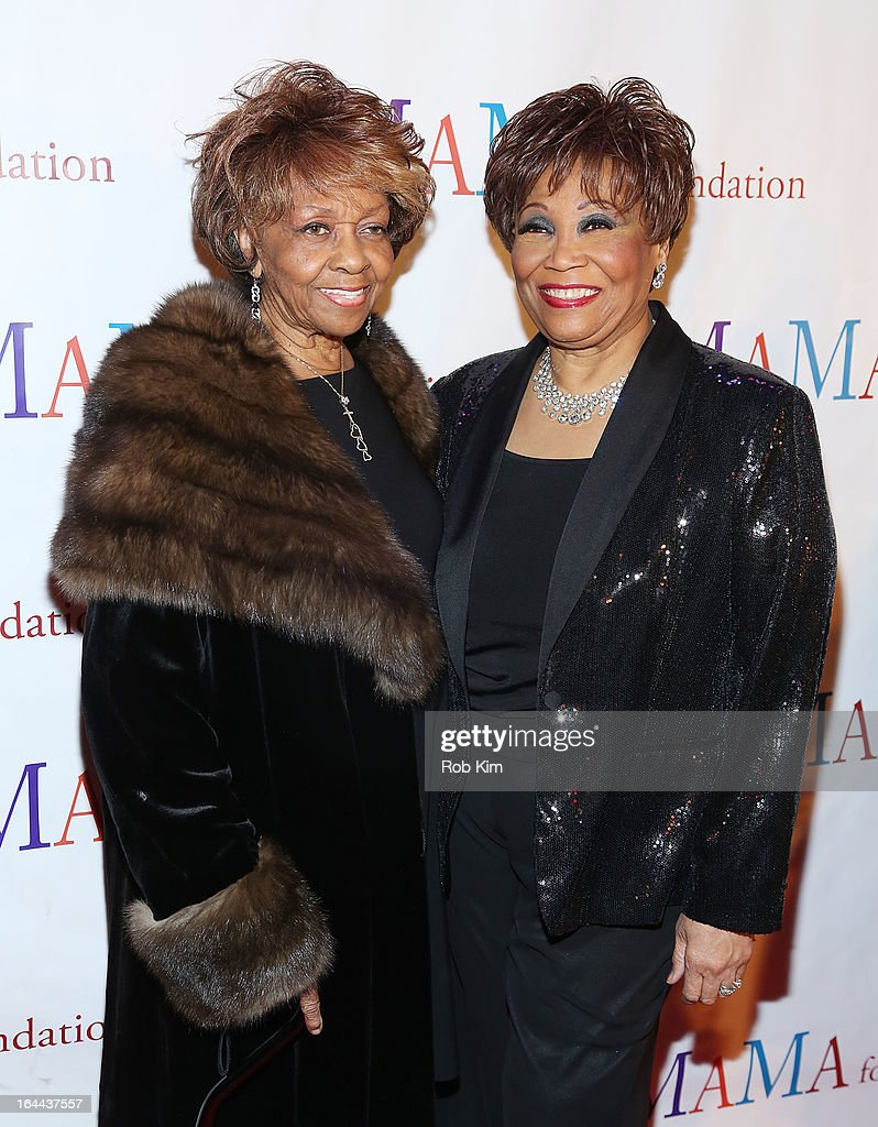 <a gi-track='captionPersonalityLinkClicked' href=/galleries/search?phrase=Cissy+Houston&family=editorial&specificpeople=1019962 ng-click='$event.stopPropagation()'>Cissy Houston</a> (L) and Vy Higginsen attend 'Mama I Want To Sing' 30th Anniversary Gala Celebration at The Dempsey Theatre on March 23, 2013 in New York City.