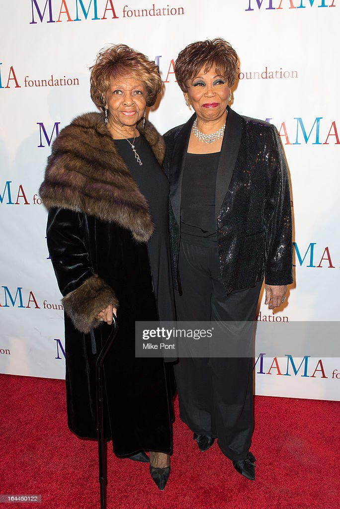 <a gi-track='captionPersonalityLinkClicked' href=/galleries/search?phrase=Cissy+Houston&family=editorial&specificpeople=1019962 ng-click='$event.stopPropagation()'>Cissy Houston</a> and Vy Higginsen attend 'Mama I Want To Sing' 30th Anniversary Gala Celebration at The Dempsey Theatre on March 23, 2013 in New York City.