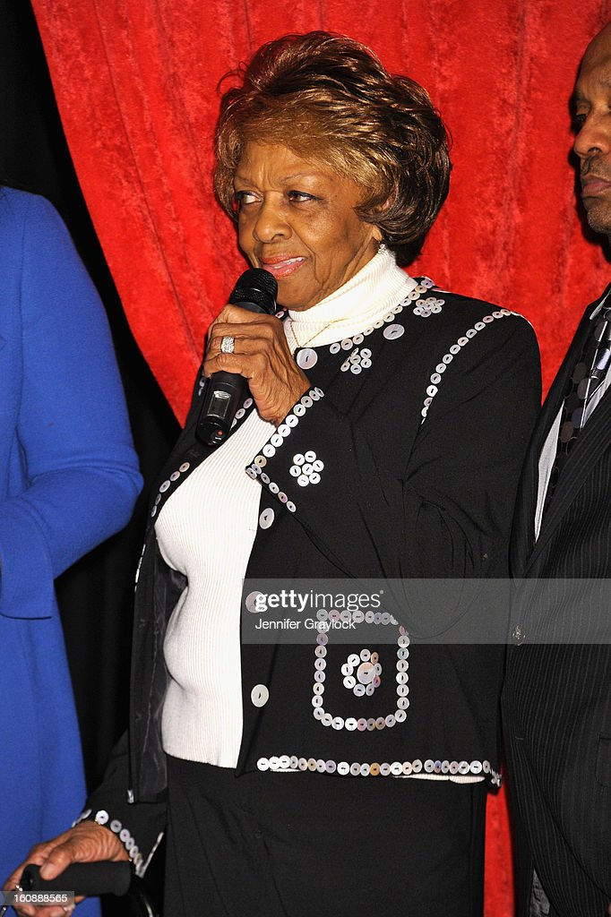 <a gi-track='captionPersonalityLinkClicked' href=/galleries/search?phrase=Cissy+Houston&family=editorial&specificpeople=1019962 ng-click='$event.stopPropagation()'>Cissy Houston</a> attends as Madame Tussauds unveils four wax figures of Whitney Houston-- the first time four figures of the same individual have been simultaneously released-- on February 7, 2013 in New York City.