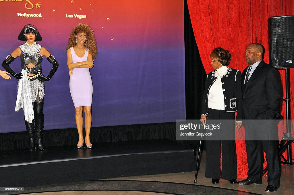 <a gi-track='captionPersonalityLinkClicked' href=/galleries/search?phrase=Cissy+Houston&family=editorial&specificpeople=1019962 ng-click='$event.stopPropagation()'>Cissy Houston</a> attends as Madame Tussauds unveils four wax figures of <a gi-track='captionPersonalityLinkClicked' href=/galleries/search?phrase=Whitney+Houston&family=editorial&specificpeople=201541 ng-click='$event.stopPropagation()'>Whitney Houston</a>-- the first time four figures of the same individual have been simultaneously released-- on February 7, 2013 in New York City.