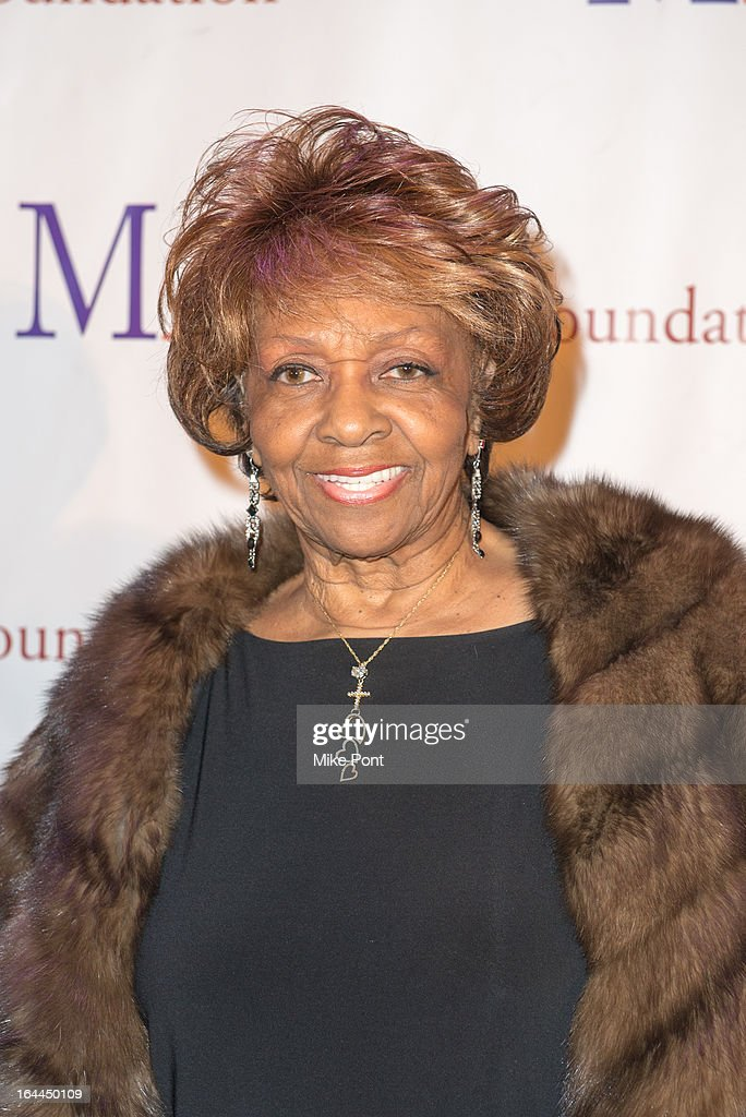 <a gi-track='captionPersonalityLinkClicked' href=/galleries/search?phrase=Cissy+Houston&family=editorial&specificpeople=1019962 ng-click='$event.stopPropagation()'>Cissy Houston</a> attends 'Mama I Want To Sing' 30th Anniversary Gala Celebration at The Dempsey Theatre on March 23, 2013 in New York City.