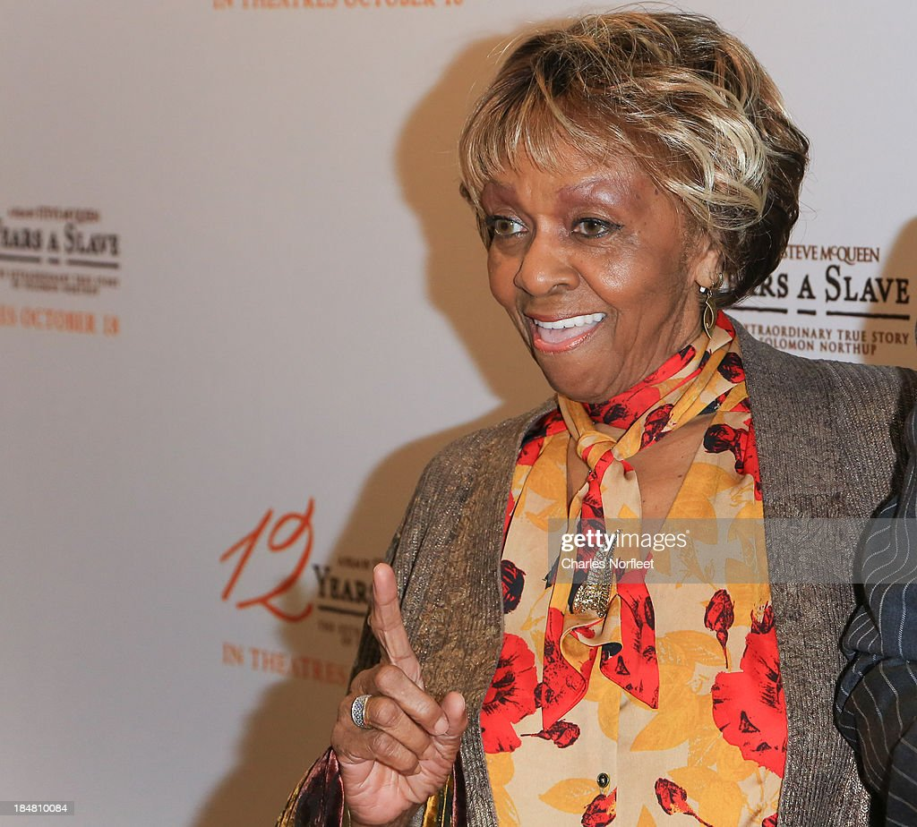 <a gi-track='captionPersonalityLinkClicked' href=/galleries/search?phrase=Cissy+Houston&family=editorial&specificpeople=1019962 ng-click='$event.stopPropagation()'>Cissy Houston</a> attends the '12 Years A Slave' screening at AMC Empire 25 theater on October 16, 2013 in New York City.
