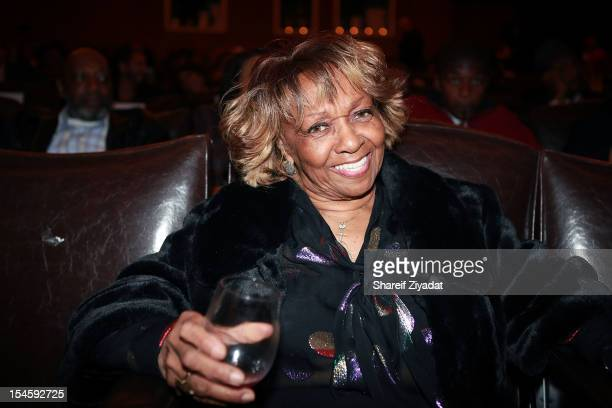 Cissy Houston attends 'The Houstons On Our Own' series premiere party at the Tribeca Grand Hotel on October 22 2012 in New York City