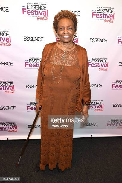 Cissy Houston poses backstage at the 2017 ESSENCE Festival presented by CocaCola at Ernest N Morial Convention Center on July 2 2017 in New Orleans...