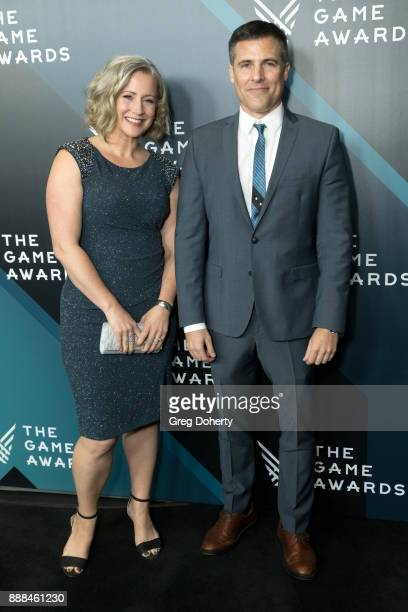 Cissy Jones and Owen Thomas attend The Game Awards 2017 at Microsoft Theater on December 7 2017 in Los Angeles California