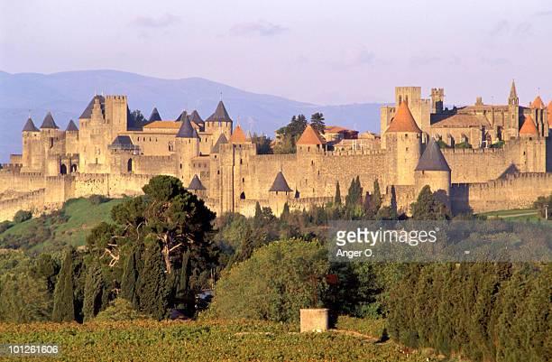 Citadel in Carcassonne, Aude, France