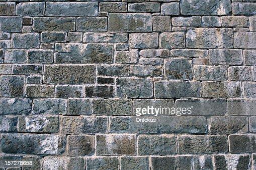 Citadelle de Quebec Grey Brick Wall Background