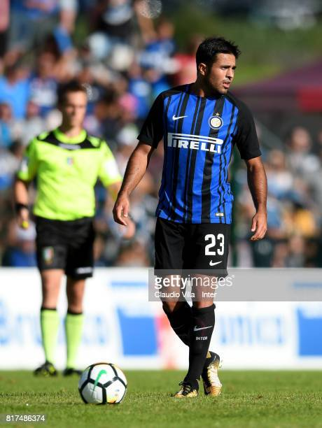 Citadin Martins Eder of FC Internazionale in action during the PreSeason Friendly match between FC Internazionale and Nurnberg on July 15 2017 in...