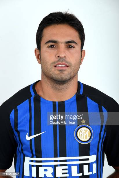 Citadin Martins Eder of FC Internazionale poses on July 12 2017 in Reischach near Bruneck Italy