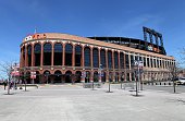 Citi Field home of the New York Mets baseball team in Flushing New York on April 16 2016