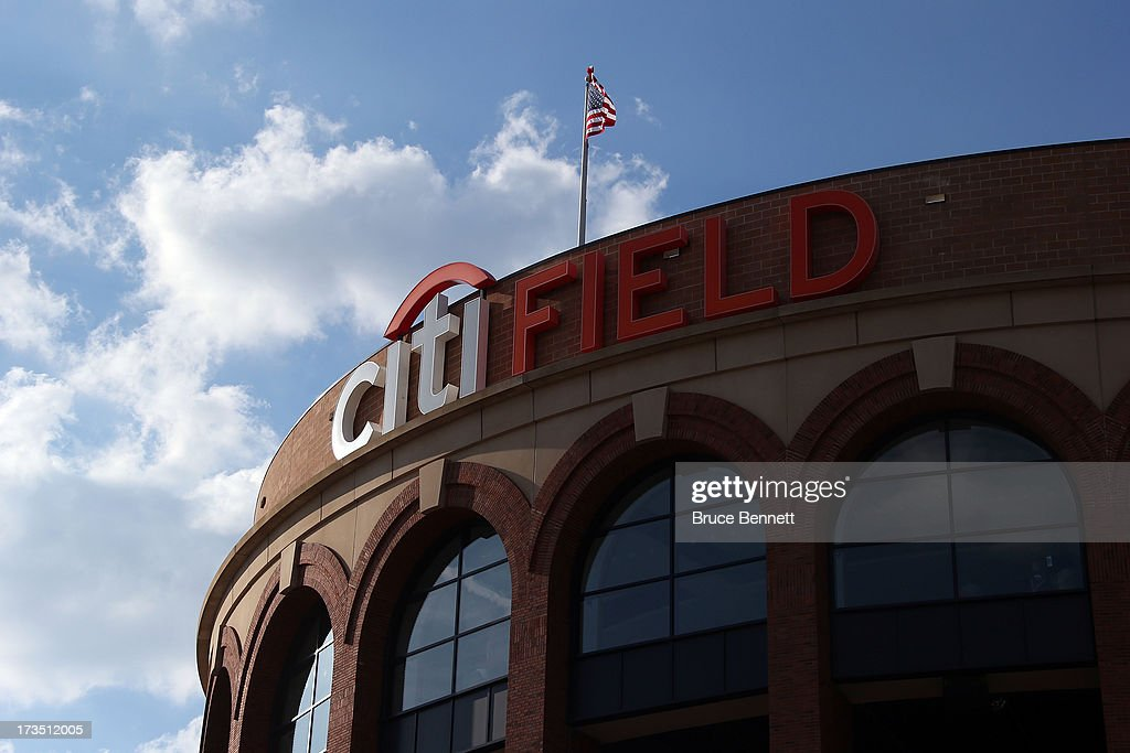 Citi Field is seen during Gatorade All-Star Workout Day on July 15, 2013 in the Flushing neighborhood of the Queens borough of New York City.