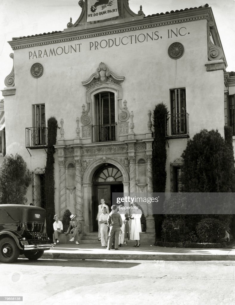 circa 1930's The Paramount Studios Hollywood Los Angeles California