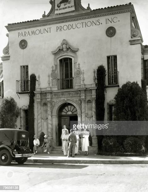 circa 1930's The Paramount Studios Hollywood Los Angeles California
