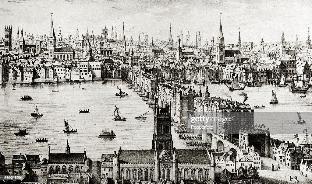 Image result for river thames 16th century