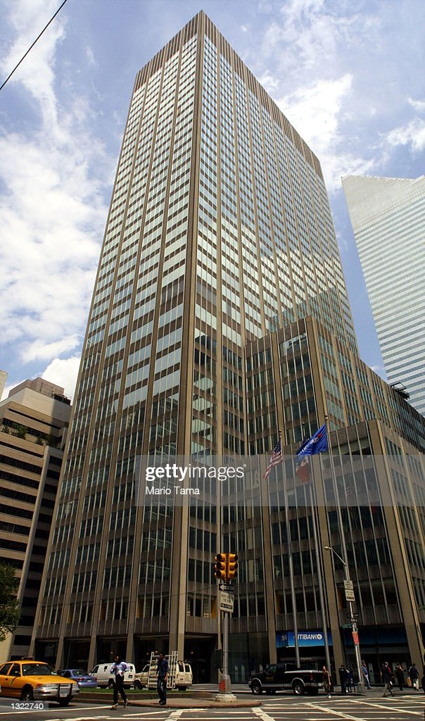 Citigroup headquarters on Park Avenue photographed July 5 2001 in New York City