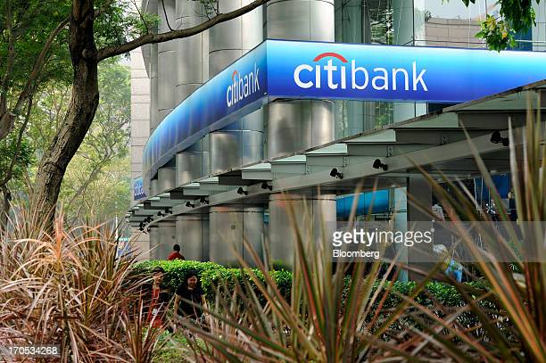 A Citigroup Inc Citibank branch stands in Singapore on Friday June 14 2013 Singapore's central bank plans to reprimand banks in the citystate as...