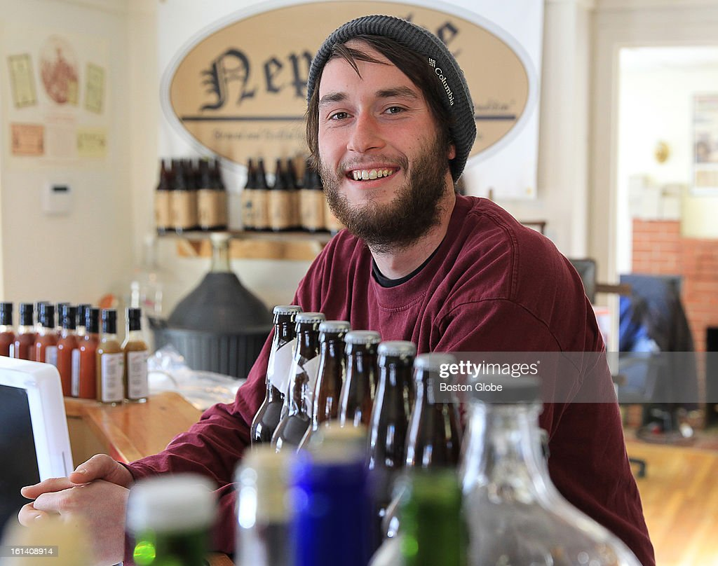 Citizen Brewer Thomas P. Nell of the Candia Road Brewing Company & Nepenthe Ale House. There is a growing trend of nano breweries in New Hampshire.