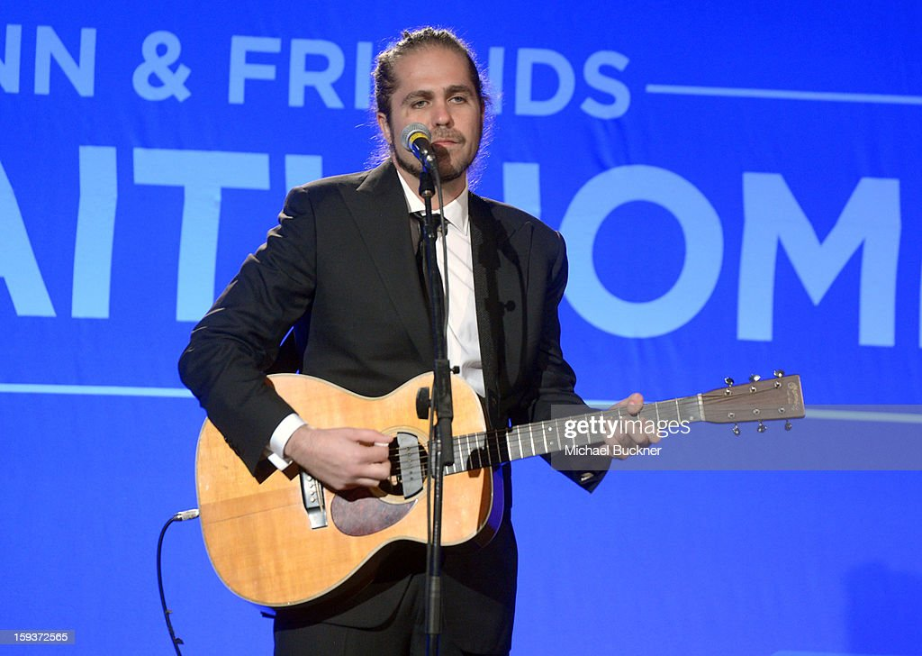 Citizen Cope performs during the 2nd Annual Sean Penn and Friends Help Haiti Home Gala benefiting J/P HRO presented by Giorgio Armani at Montage Hotel on January 12, 2013 in Los Angeles, California.