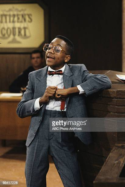 MATTERS 'Citizen's Court' Season Three 10/25/91 Urkel took Carl to a television small claims court judge after Carl squashed his pet beetle